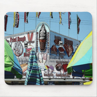 Amusement Park Snack Stand Old Orchard Beach Maine Mouse Pad