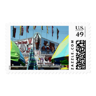 Amusement Park Snack Stand Old Orchard Beach Maine Postage