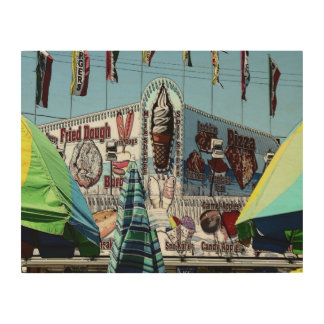 Amusement Park Snack Stand Old Orchard Beach Maine Wood Wall Decor