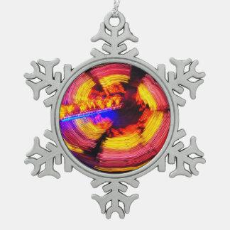 Amusement park spinning wheel ornament