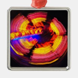 Amusement park spinning wheel christmas ornament