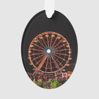 Amusement park wheel