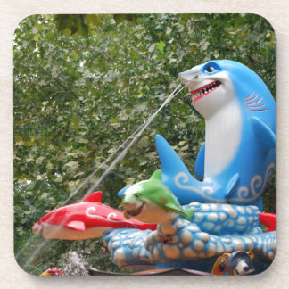 Amusement Ride Beverage Coasters