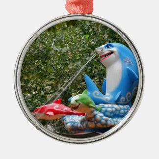 Amusement Ride Metal Ornament
