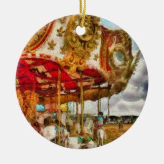 Amusement - The Merry-go-round Christmas Ornaments