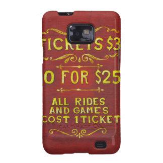 Amusement - Tickets 3 Dollars Samsung Galaxy SII Case