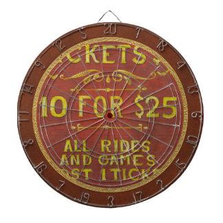 Amusement - Tickets 3 Dollars Dart Board