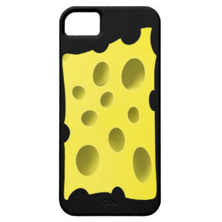 Amusing and tasty yellow cheese with holes iPhone 5 cases