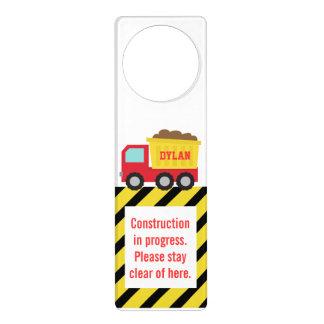 Amusing Construction in Progress, Stay Clear Door Hanger