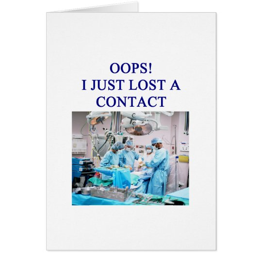 amusing doctor joke card