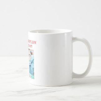 amusing doctor joke classic white coffee mug