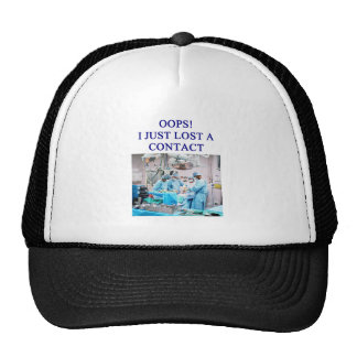 amusing doctor joke trucker hat