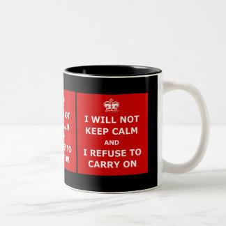 Amusing keep calm mugs
