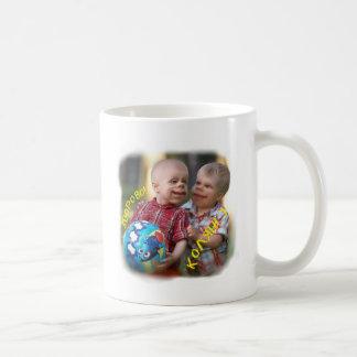 Amusing kiddies classic white coffee mug