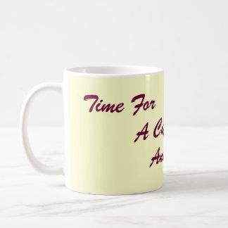 amusing original slogan for tea and coffee coffee mug