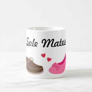 Amusing Soul mates Sole Mates Pun Humor Coffee Mug
