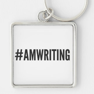 #AMWRITING | 2 Inch Square Keychain