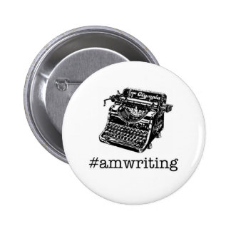 #amwriting button