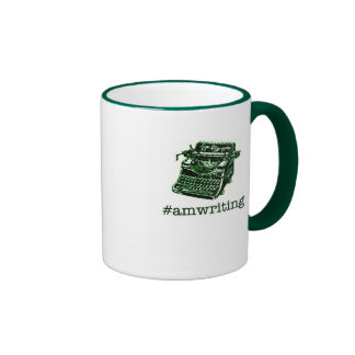 #amwriting coffee mugs