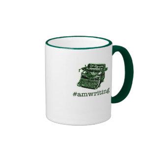 #amwriting ringer coffee mug