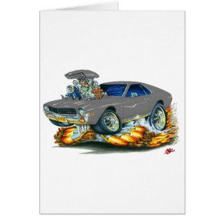 AMX Grey Car Cards