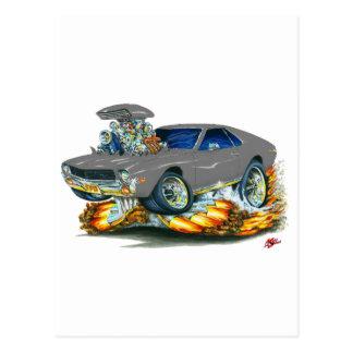 AMX Grey Car Postcard