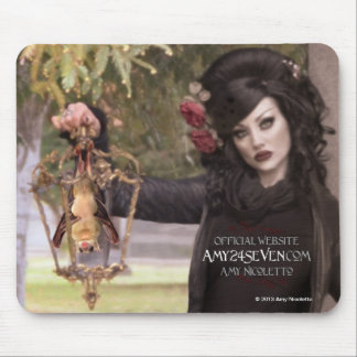 Amy24Seven Mousepad Featuring Amy Nicoletto