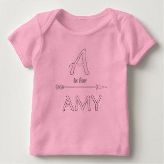 Amy baby tshirt