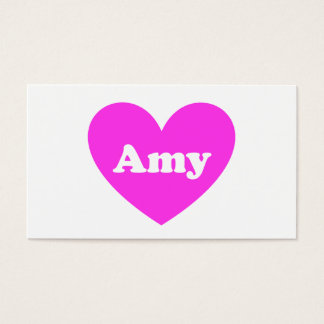 Amy Business Card