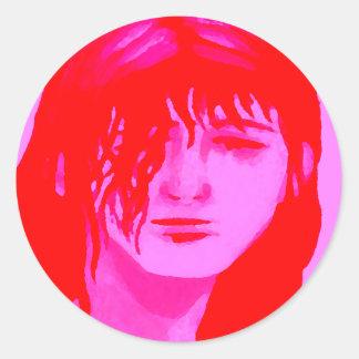 """""""Amy""""  CricketDiane Art & Designer Stuff Classic Round Sticker"""