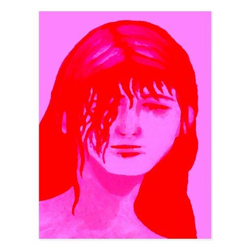 """Amy""  CricketDiane Art & Designer Stuff Post Card"