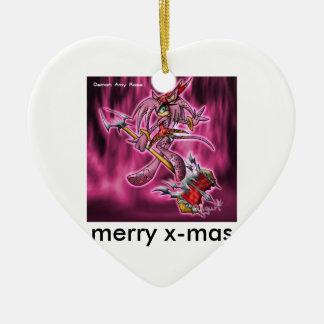amy-demon-demamy-sonic-x-4091740-500-482, merry... ceramic ornament