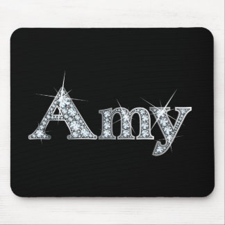 "Amy ""Diamond Bling"" Mousepad"