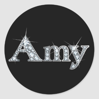 "Amy ""Diamond Bling"" Stickers"