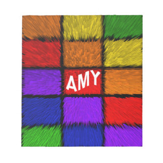 AMY ( female names ) Notepad