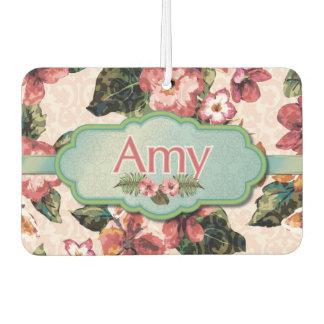 Amy Floral-Damask Design Air Freshener