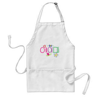 Amy (in Korean) Adult Apron