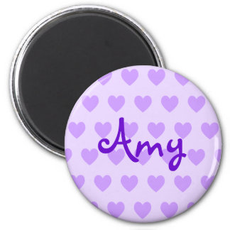 Amy in Purple Magnet
