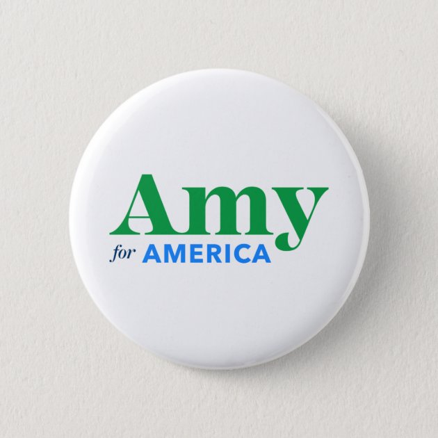 Official Amy Klobuchar For America President 2020 Campaign Pin Pinback Button