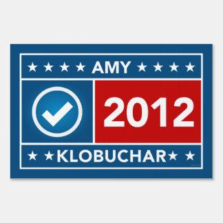 Amy Klobuchar Yard Sign