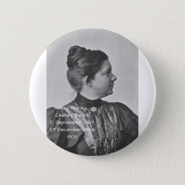 Amy Marcy Cheney Beach 1908 Pinback Button