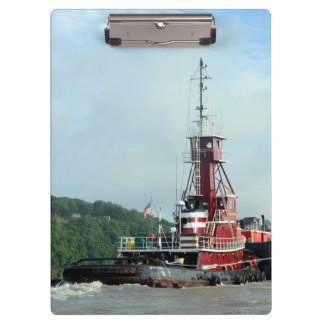 Amy McAllister Tugboat Clipboard