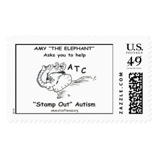 Amy the Elephant Postage