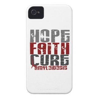 Amyloidosis de la curación de fe de la esperanza iPhone 4 Case-Mate cárcasa