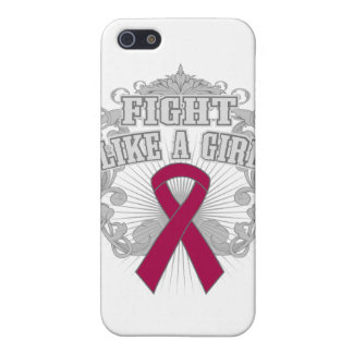 Amyloidosis Fight Like A Girl Fleurish Case For iPhone 5