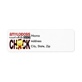 Amyloidosis Messed With Wrong Chick Label