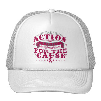 Amyloidosis Take Action Fight For The Cause Mesh Hats