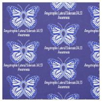 Amyotrophic Lateral Sclerosis ALS Fabric