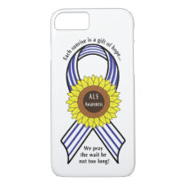 Amyotrophic Lateral Sclerosis ALS Sunflower iPhone 7 Case
