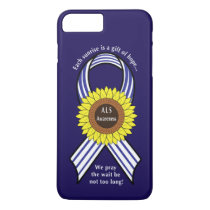 Amyotrophic Lateral Sclerosis ALS Sunflower iPhone 7 Plus Case